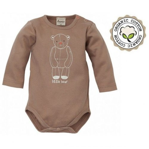 BABY BODI D. R. LITTLE BEAR, ORGANSKI BOMBAŽ, rjav