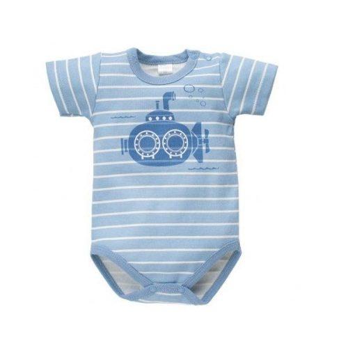 BABY BODI KR. R. SEA WORLD, modre črte