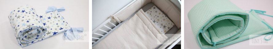 Obroba za posteljico Tiny Star